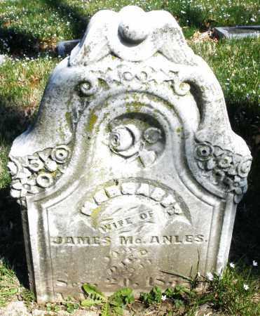 MCANLES, MARGARET - Montgomery County, Ohio | MARGARET MCANLES - Ohio Gravestone Photos