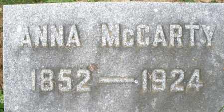 MCCARTY, ANNA - Montgomery County, Ohio | ANNA MCCARTY - Ohio Gravestone Photos