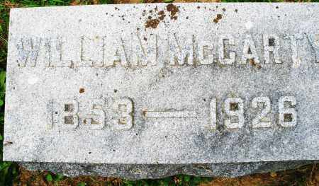 MCCARTY, WILLIAM - Montgomery County, Ohio | WILLIAM MCCARTY - Ohio Gravestone Photos