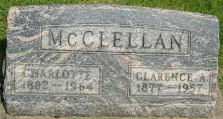 MCCLELLAN, CHARLOTTE - Montgomery County, Ohio | CHARLOTTE MCCLELLAN - Ohio Gravestone Photos