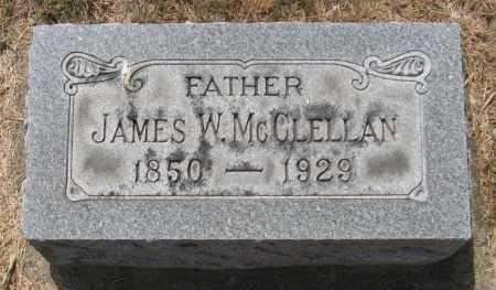 MCCLELLAN, JAMES W - Montgomery County, Ohio | JAMES W MCCLELLAN - Ohio Gravestone Photos