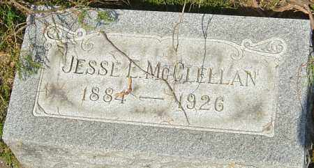 MCCLELLAN, JESSE ETHAN - Montgomery County, Ohio | JESSE ETHAN MCCLELLAN - Ohio Gravestone Photos