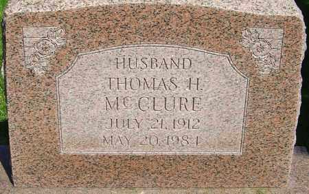 MCCLURE, THOMAS HATFIELD - Montgomery County, Ohio   THOMAS HATFIELD MCCLURE - Ohio Gravestone Photos