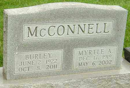 MCCONNELL, BURLEY - Montgomery County, Ohio | BURLEY MCCONNELL - Ohio Gravestone Photos