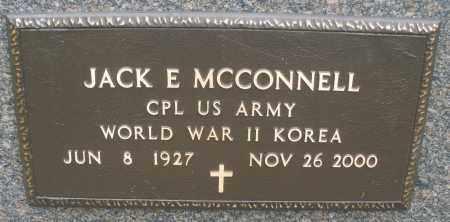 MCCONNELL, JACK E. - Montgomery County, Ohio | JACK E. MCCONNELL - Ohio Gravestone Photos