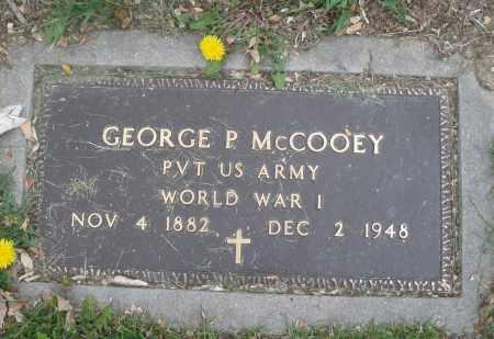 MCCOOEY, GEORGE P. - Montgomery County, Ohio   GEORGE P. MCCOOEY - Ohio Gravestone Photos