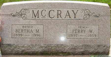 ZECH MCCRAY, BERTHA M - Montgomery County, Ohio | BERTHA M ZECH MCCRAY - Ohio Gravestone Photos