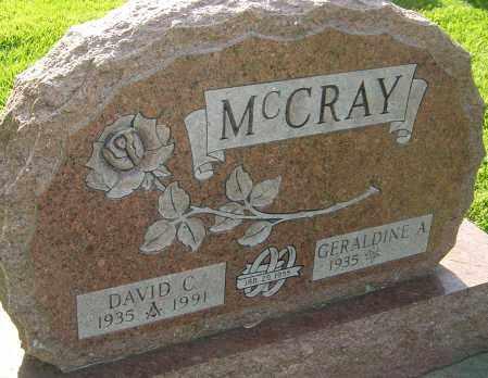 MCCRAY, DAVID C - Montgomery County, Ohio | DAVID C MCCRAY - Ohio Gravestone Photos
