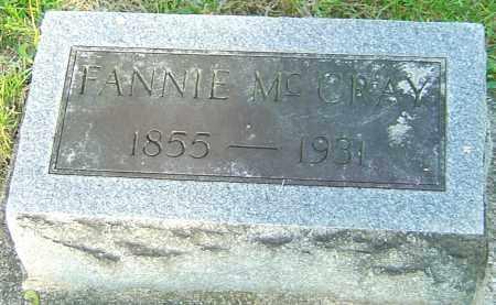 MCCRAY, FANNIE - Montgomery County, Ohio | FANNIE MCCRAY - Ohio Gravestone Photos