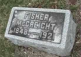 MCCREIGHT, FISHER - Montgomery County, Ohio | FISHER MCCREIGHT - Ohio Gravestone Photos