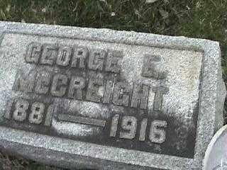 MCCREIGHT, GEORGE E. - Montgomery County, Ohio | GEORGE E. MCCREIGHT - Ohio Gravestone Photos