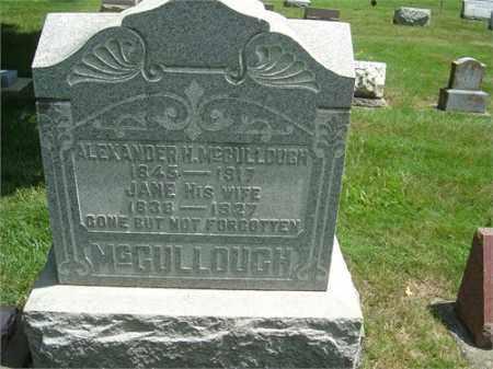 MCCULLOUGH, ALEXANDER - Montgomery County, Ohio | ALEXANDER MCCULLOUGH - Ohio Gravestone Photos