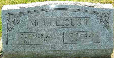 MCCULLOUGH, CLARENCE A - Montgomery County, Ohio | CLARENCE A MCCULLOUGH - Ohio Gravestone Photos