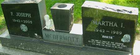 MCDERMOTT, MARTHA I - Montgomery County, Ohio | MARTHA I MCDERMOTT - Ohio Gravestone Photos