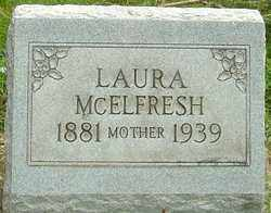CLARK MCELFRESH, LAURA MABEL - Montgomery County, Ohio | LAURA MABEL CLARK MCELFRESH - Ohio Gravestone Photos
