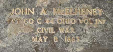 MCELHENEY, JOHN A. - Montgomery County, Ohio | JOHN A. MCELHENEY - Ohio Gravestone Photos