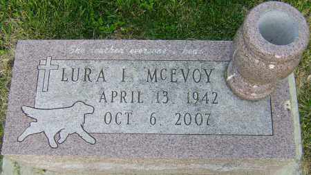 MCEVOY, LURA I - Montgomery County, Ohio   LURA I MCEVOY - Ohio Gravestone Photos