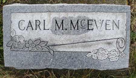 MCEWEN, CARL M. - Montgomery County, Ohio   CARL M. MCEWEN - Ohio Gravestone Photos