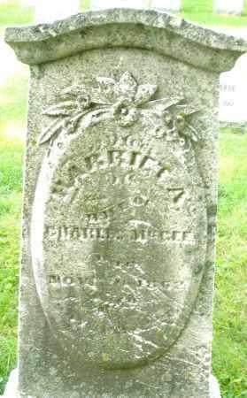 MCGEE, HARRIET A. - Montgomery County, Ohio | HARRIET A. MCGEE - Ohio Gravestone Photos