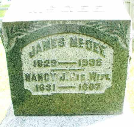 MCGEE, NANCY J. - Montgomery County, Ohio   NANCY J. MCGEE - Ohio Gravestone Photos