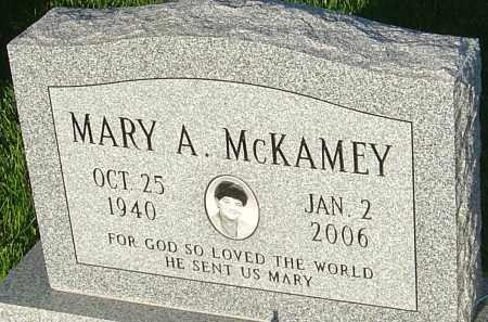 MCKAMEY, MARY A - Montgomery County, Ohio   MARY A MCKAMEY - Ohio Gravestone Photos