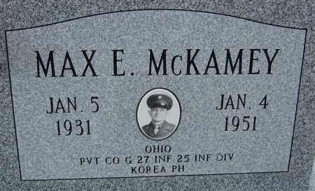 MCKAMEY, MAX ELWOOD - Montgomery County, Ohio | MAX ELWOOD MCKAMEY - Ohio Gravestone Photos
