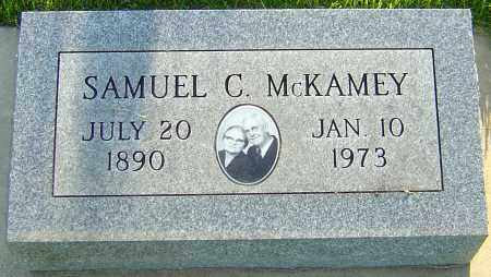 MCKAMEY, SAMUEL COLLINS - Montgomery County, Ohio | SAMUEL COLLINS MCKAMEY - Ohio Gravestone Photos
