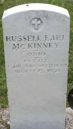 MCKINNEY, RUSSELL EARL - Montgomery County, Ohio | RUSSELL EARL MCKINNEY - Ohio Gravestone Photos