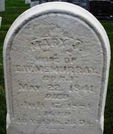 MCMURRAY, MARY J. - Montgomery County, Ohio | MARY J. MCMURRAY - Ohio Gravestone Photos