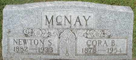 MCNAY, NEWTON S. - Montgomery County, Ohio | NEWTON S. MCNAY - Ohio Gravestone Photos