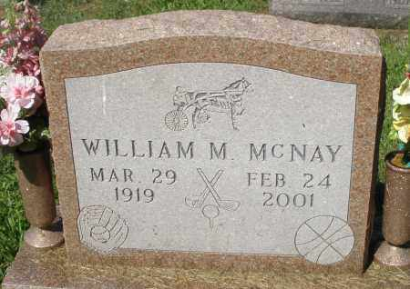 MCNAY, WILLIAM M. - Montgomery County, Ohio   WILLIAM M. MCNAY - Ohio Gravestone Photos