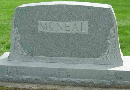 MCNEAL, SUSANNAH - Montgomery County, Ohio | SUSANNAH MCNEAL - Ohio Gravestone Photos