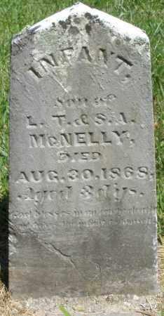 MCNELLY, INFANT - Montgomery County, Ohio | INFANT MCNELLY - Ohio Gravestone Photos
