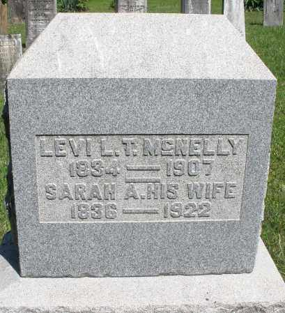 MCNELLY, SARAH A. - Montgomery County, Ohio | SARAH A. MCNELLY - Ohio Gravestone Photos