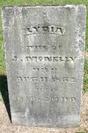 MCNELLY, LYDIA - Montgomery County, Ohio | LYDIA MCNELLY - Ohio Gravestone Photos
