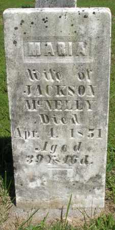 MCNELLY, MARIA - Montgomery County, Ohio | MARIA MCNELLY - Ohio Gravestone Photos