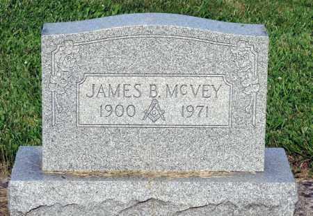 MCVEY, JAMES B. - Montgomery County, Ohio | JAMES B. MCVEY - Ohio Gravestone Photos