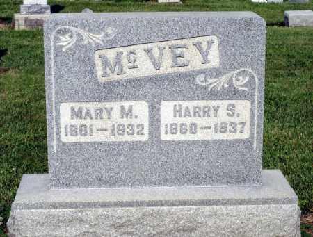 MCVEY, MARY M. - Montgomery County, Ohio | MARY M. MCVEY - Ohio Gravestone Photos
