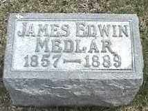 MEDLAR, JAMES EDWIN - Montgomery County, Ohio | JAMES EDWIN MEDLAR - Ohio Gravestone Photos