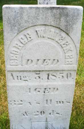 MEEKER, GEORGE W. - Montgomery County, Ohio | GEORGE W. MEEKER - Ohio Gravestone Photos