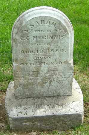 MEGINNIS, SARAH - Montgomery County, Ohio | SARAH MEGINNIS - Ohio Gravestone Photos