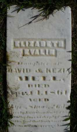 MELL, ELIZABETH EVALIN - Montgomery County, Ohio | ELIZABETH EVALIN MELL - Ohio Gravestone Photos