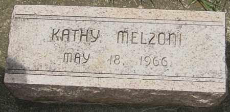 MELZONI, KATHY - Montgomery County, Ohio | KATHY MELZONI - Ohio Gravestone Photos