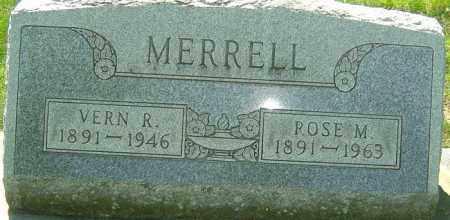 MERRELL, VERN R - Montgomery County, Ohio | VERN R MERRELL - Ohio Gravestone Photos