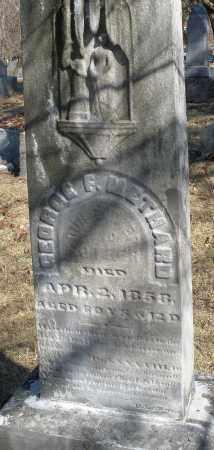 METHARD, GEORGE F. - Montgomery County, Ohio | GEORGE F. METHARD - Ohio Gravestone Photos