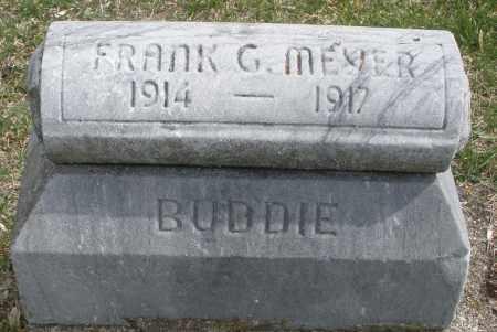 MEYER, FRANK G. - Montgomery County, Ohio | FRANK G. MEYER - Ohio Gravestone Photos