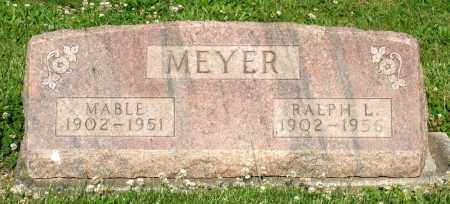 MEYER, RALPH L. - Montgomery County, Ohio | RALPH L. MEYER - Ohio Gravestone Photos