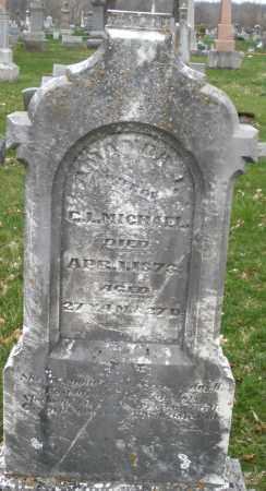 MICHAEL, AMANDA - Montgomery County, Ohio | AMANDA MICHAEL - Ohio Gravestone Photos