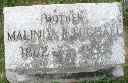 MICHAEL, MALINDA R. - Montgomery County, Ohio   MALINDA R. MICHAEL - Ohio Gravestone Photos