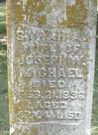 MICHAEL, SARAH A. - Montgomery County, Ohio | SARAH A. MICHAEL - Ohio Gravestone Photos